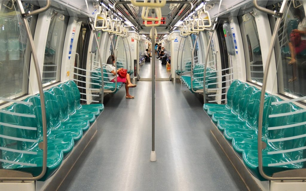 singapore mrt interior